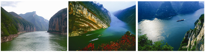three gorges scenery