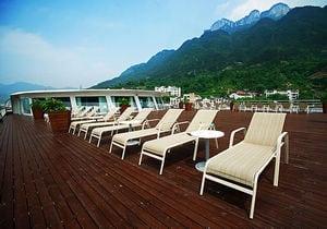 President No.6 cruise ship sun deck