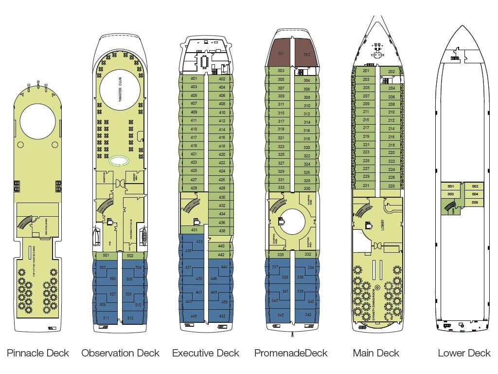 Victoria Katarina Deck Plan