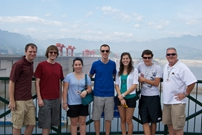 Baylor University Group Three Gorges Dam Tour