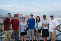 Baylor University Group Three Gorges Dam Tour