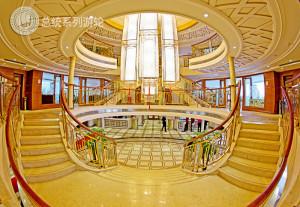 Cruise Lobby on President No.7 cruise ship
