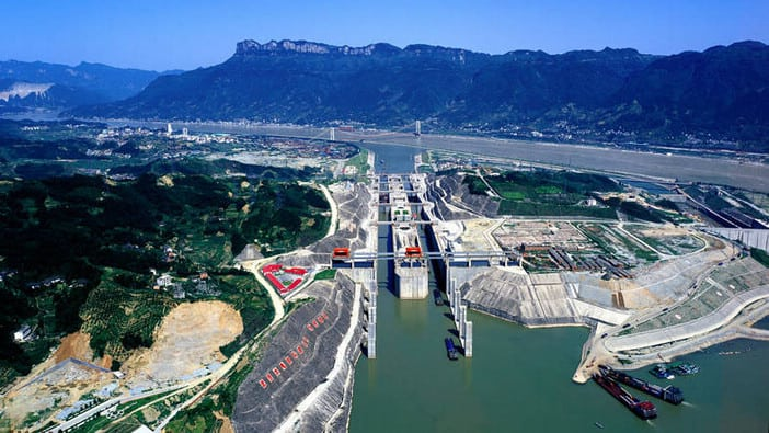 Three Gorges Dam Ship-locks