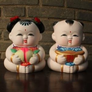 Clay figurines in Wuxi