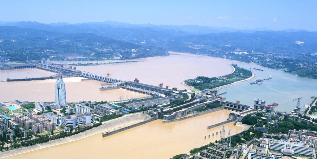 Gezhouba Dam Hydro Electric Project