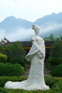 Zhaojun Statue
