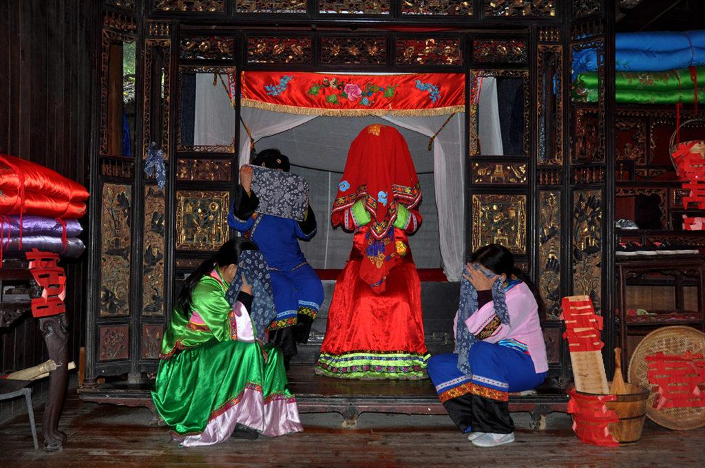Tujia Ethnic Groups Crying Marriage
