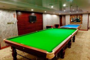 Yangtze River cruise ship Billiard Room