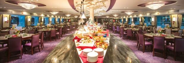 Yangtze River cruise meals