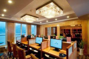 yangtze river cruise ship Internet Cafe