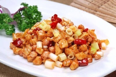 Yangtze River Cruise Meals - Kung Pao Chicken