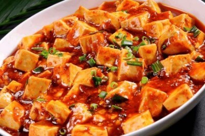 Yangtze River Cruise Meals - Ma Po Tofu