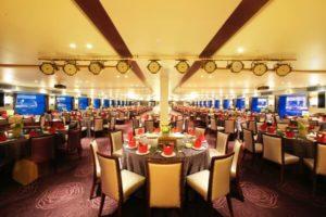 yangtze river cruise ship Main Dining Room