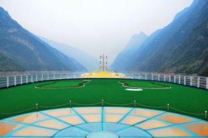 yangtze river cruise ship Mini Golf