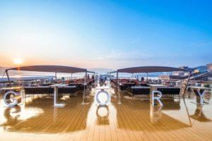 yangtze river cruise ship Sundeck