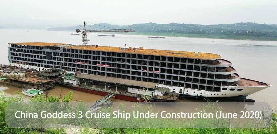 China Goddess 3 Cruise Ship Under Construction