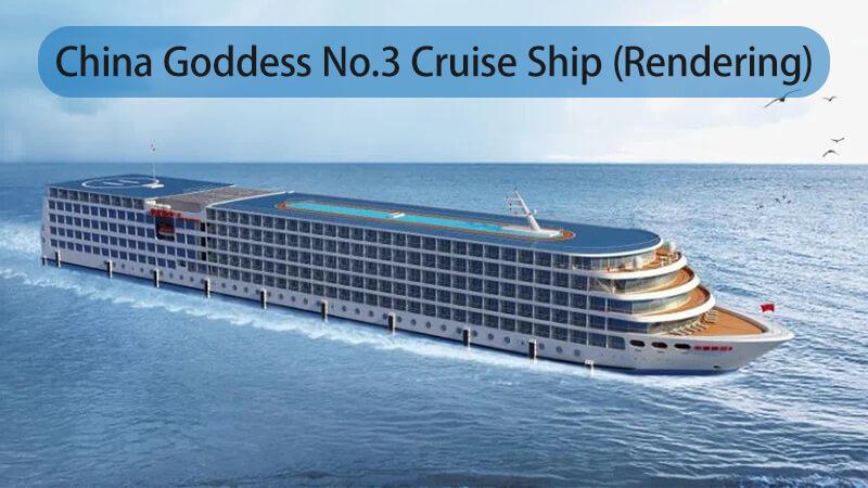 China Goddess No.3 Cruise Ship Exterior View (Rendering)